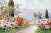 Friederich Arnold - The Gardens of The Villa Melzi on Lake Como