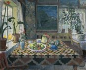 Nikolai Astrup - The Parlour at Sandalstrand