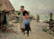 Henry Bacon - Fisherfolk Returning With Their Nets
