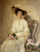 John Henry Frederick Bacon - Portrait of a Lady