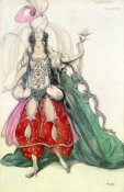 Leon Bakst - Costume Design For Scheherazade