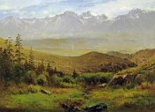 Albert Bierstadt - In The Foothills of The Rockies