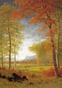 Albert Bierstadt - Autumn In America, Oneida County, New York