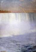 Albert Bierstadt - Waterfall and Rainbow, Niagara