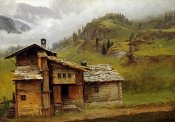 Albert Bierstadt - Mountain House