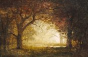 Albert Bierstadt - Forest Sunrise
