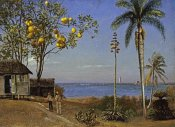 Albert Bierstadt - Tropical Scene