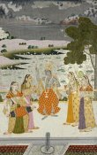 Ustad Murad Bikaner - Krishna With The Gopis