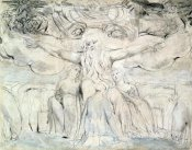 William Blake - Job and His Daughters