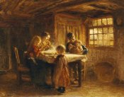 Bernardus Johannes Blommers - The Family Meal