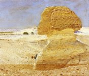 George Price Boyce - The Great Sphinx at Gizeh