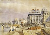 Thomas Shotter Boys - L'institut and The Pont Des Arts, Paris