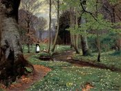 Hans Anderson Brendekilde - The Woodland Path