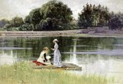 Alfred Thompson Bricher - A Pleasant Afternoon