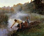 Pierre Andre Brouillet - The Fisherman's Family