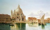 William Hickling Burnett - The Santa Maria Della Salute, Venice