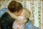 Mary Cassatt - A Goodnight Hug