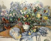 Paul Cezanne - A Large Bouquet of Flowers