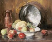 William Merritt Chase - Still Life With Fruit and Copper Pot