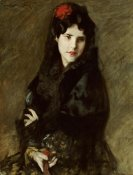 William Merritt Chase - Mrs. Chase In Spanish Costume