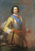 Maria Giovanna Battista Clementi - Portrait of Peter The Great