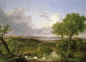 Thomas Cole - View of Boston