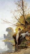 Hermann David Salomon Corrodi - The Bather