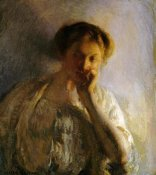 Joseph Rodefer De Camp - La Penserosa. The Thoughtful One