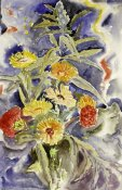 Charles Demuth - Spray of Flowers
