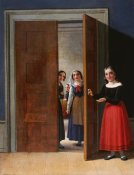 Christian Wilhelm Eckersberg - Women By a Doorway