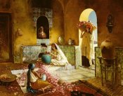 Rudolf Ernst - The Gathering of Roses