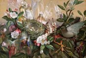 John Anster Fitzgerald - Fairies Round a Bird's Nest - The Distressed Mother
