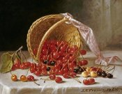John F. Francis - A Basket of Cherries