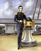 William Charles Anthony Frerichs - Portrait of a Naval Officer