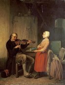 Napoleon Francois Ghesquiere - The Fiddler