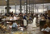 Victor Gilbert - The Fish Hall at The Central Market