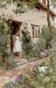 Alfred Augustus Glendening - The Cottage Garden