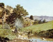 Paul Guigou - A Hunter In a Landscape