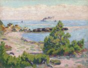 Armand Guillaumin - Saint Palais, Pointe De La Perriere
