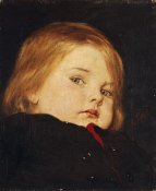 Nicolas Gysis - Portrait of a Child