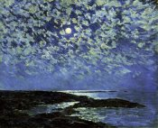 Childe Hassam - Moonlight, Isle of Shoals