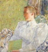 Childe Hassam - Portrait of Edith Blaney (Mrs. Dwight Blaney)