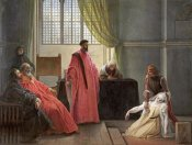 Francesco Hayez - Valenza Gradenigo Before The Inquisition