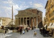 Veronika Mario Herwegen-Manini - The Pantheon, Rome