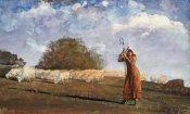 Winslow Homer - The Young Shepherdess