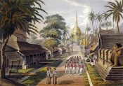 George Hunt - Great Dagon Pagoda, Rangoon, Burma