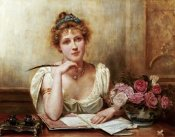 George Goodwin Kilburne - The Letter