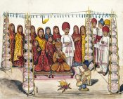 Kutch School - Scenes From a Marriage Ceremony: The Betrothal