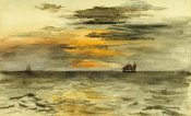 John La Farge - Sunrise Off Japan