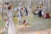 Carl Larsson - Breakfast In The Open